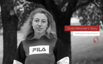 Peace Activist Giulia Messmer's Story. International Day of Peace